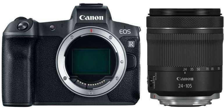 Canon EOS R Vollformat Systemkamera + Objektiv RF 24-105mm F4-7.1 IS STM für 1784,01€ (statt 1969€)