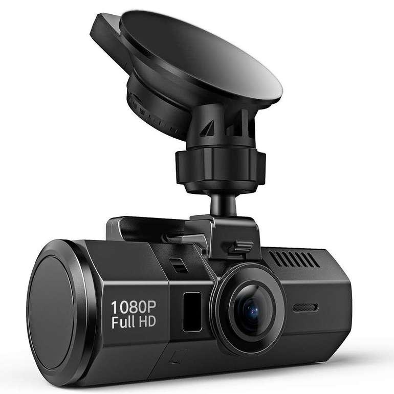 Crosstour 1080p Dash Cam mit Bewegungserkennung & Nachtsicht für 34,99€