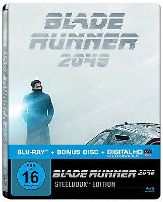 Blade Runner 2049 (Blu-ray Steelbook) für 9,99€ inkl. VSK