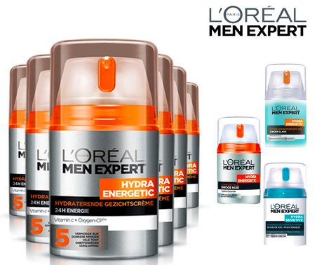 6er Pack L'Oréal Paris Männer Hautpflege für 35,90€ inkl. Versand (statt 42€)