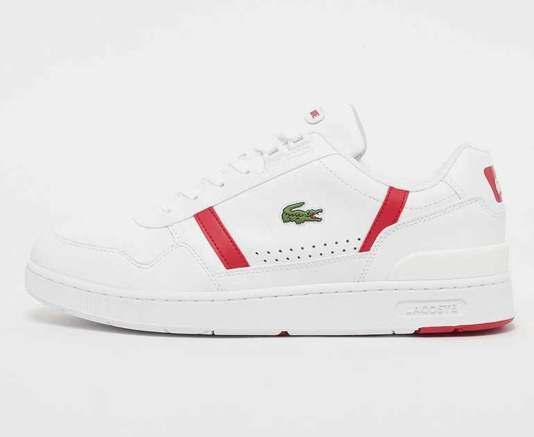 Lacoste T-Clip 0721 2 SMA Herren Sneaker für 52,99€ inkl. Versand (statt 86€)