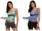 Belecoo Damen Badeanzug in 3 Farbvarianten für je 16,24€