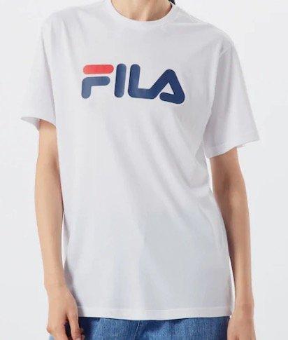 Fila Damen T-Shirt 'Pure' in weiß für 16,15€ inkl. Versand (statt 24€)