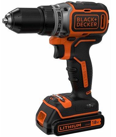 Black + Decker BL186 18V Akku-Bohrschrauber für 69,95€ inkl. VSK