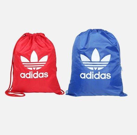 Jetzt auch in Blau: Adidas Originals Trefoil Gymbag für 7,12€ (statt 14€)