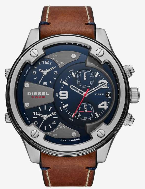 Diesel Herren Uhr Boltdown in braun / silbergrau für 115€ inkl. Versand (statt 190€)