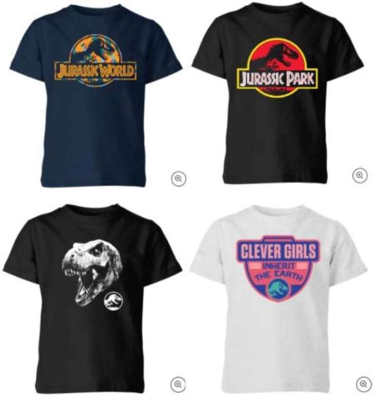 Jurassic Park Kinder-T-Shirts für je 9,99€ inkl. Versand (statt 15€)