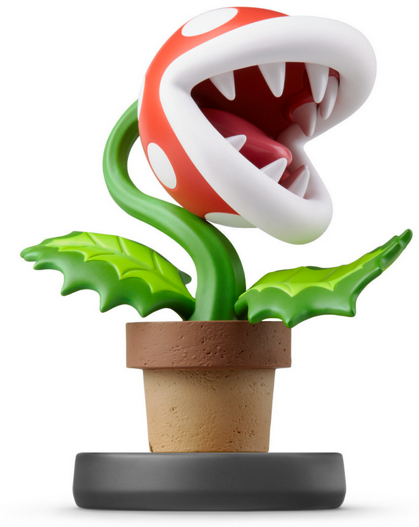 Amiibo Piranha-Pflanze Super Smash Bros. für 11,16€ inkl. Versand (statt 17€)