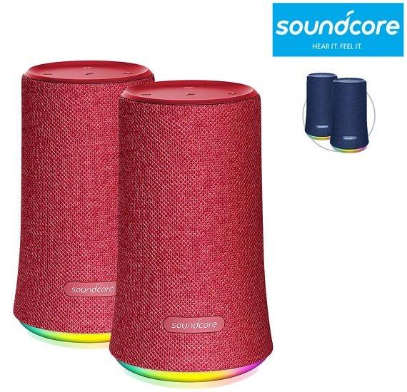 2x Anker Soundcore Flare Bluetooth-Lautsprecher für 55,90€