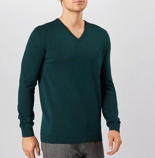 s.Oliver V-Neck Pullover mit 100% Baumwolle für 17,94€ (statt 28€)