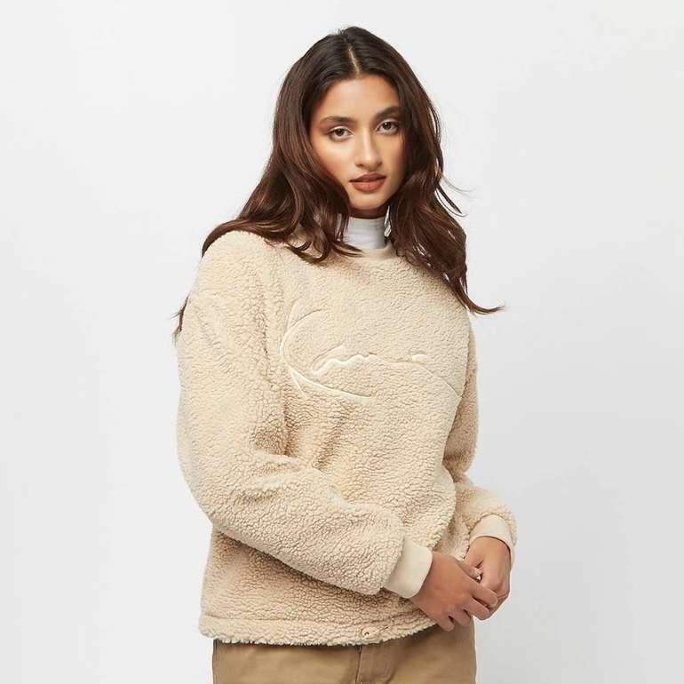 Karl Kani Signature Teddy Crew Damen Sweatshirt für 45,98€ inkl. Versand (statt 68€)