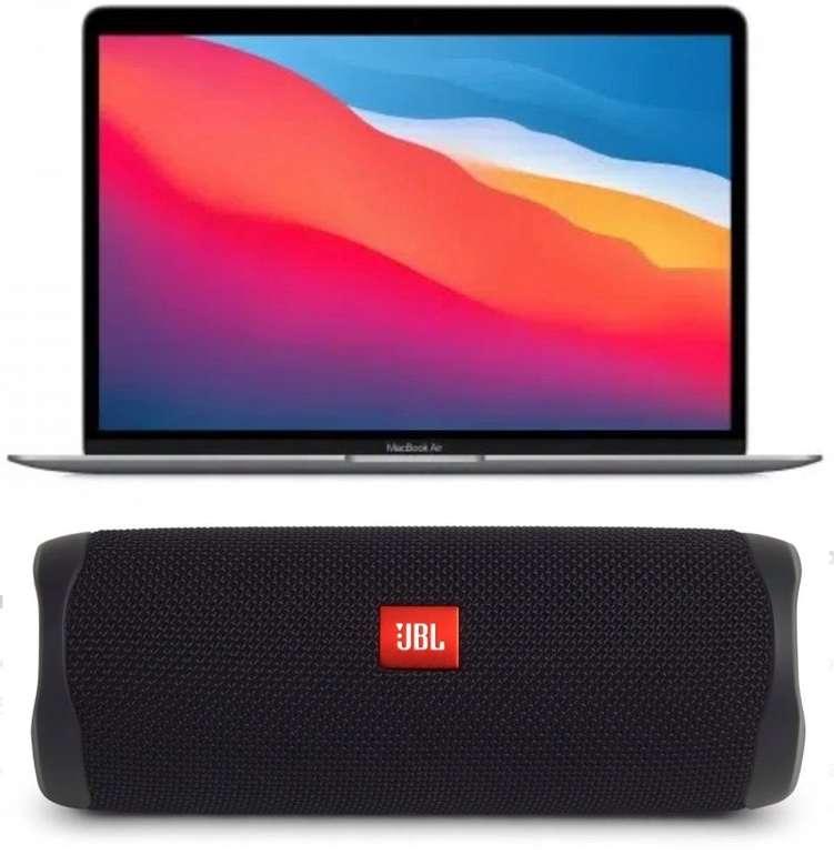 Apple MacBook Air - 13,3″ (2020) M1 Prozessor + 256GB SSD + gratis JBL Flip 5 für 1.029€ (statt 1.154€)