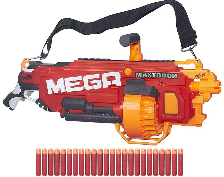 Hasbro Nerf N-Strike Elite Mega Mastodon + Spiel für 63,39€ (statt 80€)