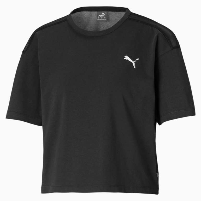 Puma Cotton Mesh kurzes Damen T-Shirt für 7,96€ inkl. Versand (statt 20€)