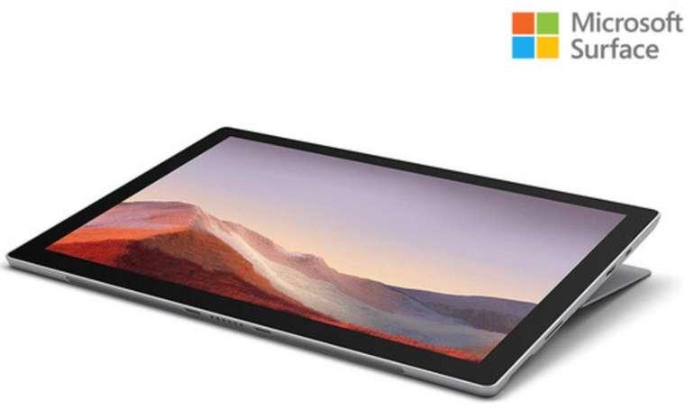 """Microsoft Surface Pro 7 12,3"""" WQHD+ i3 4GB/128GB (Windows 10 Home, USB-C, DisplayPort, 5.702 mAh) für 555,90€"""