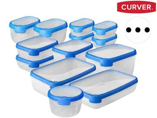 13-tlg. Set von Curver Grand Chef Frischhaltedosen für 30,90€ (statt 44€)