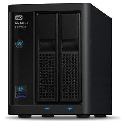 My Cloud EX2100 NAS mit 12TB Speicherplatz für 506,99€ (statt 713€)