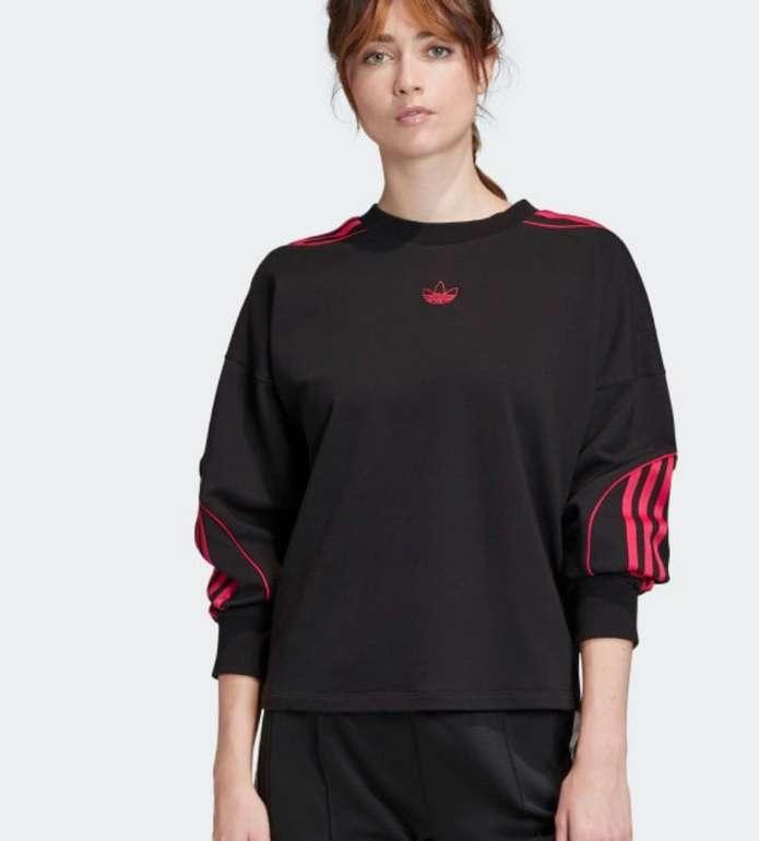 "Adidas Originals Cropped Damen Sweater im ""Black""-Design für 37,49€ (statt 54€) - Creators Club!"