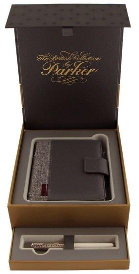 Parker-Geschenkset: Sonnet Metal Füllfederhalter & Pearl Notizbuch M für 65,90€ (statt 140€)