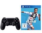 Preisfehler? PS4 mit 500GB Speicher + Dualshock Controller + Fifa 19 für 135,94€