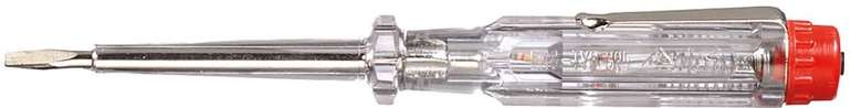 Wiha Spannungsprüfer (220-250 Volt, Schlitz, transparent) für 1,95€ inkl. Prime Versand (statt 6€)