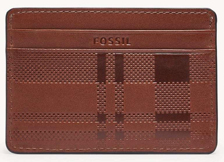 Fossil Kartenmäppchen Conrad aus Leder in 2 verschiedenen Farben für je 14€ inkl. Versand (statt 20€)