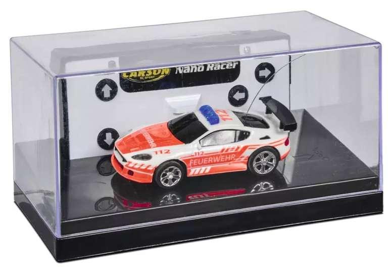 Carson 1:60 Nano Racer Feuerwehr Spielzeugmodell (27 MHz, 100% RTR) für 12,98€ inkl. Versand (statt 18,49€)