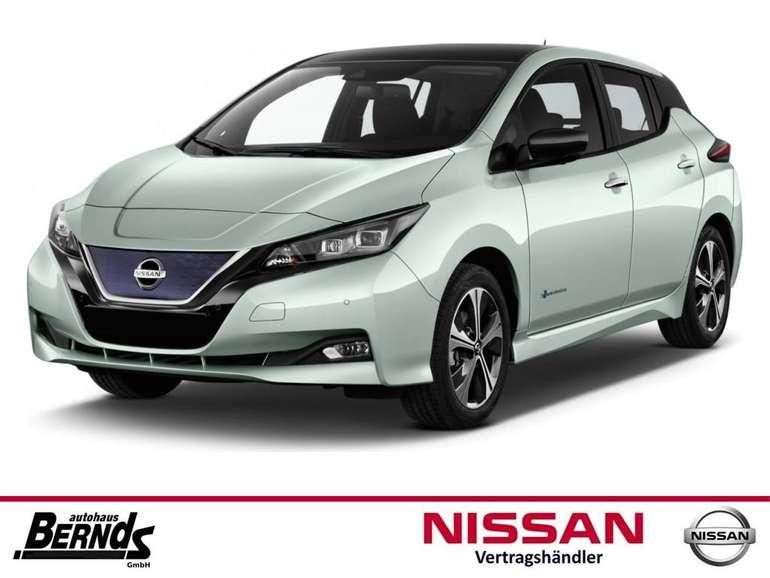 Privatleasing: Nissan Leaf (Elektro, 150 PS) für 75,40€ brutto monatlich (LF: 0,26)