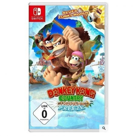 Donky Kong Country: Tropical Freeze (Switch) für 35,99€ inkl. VSK