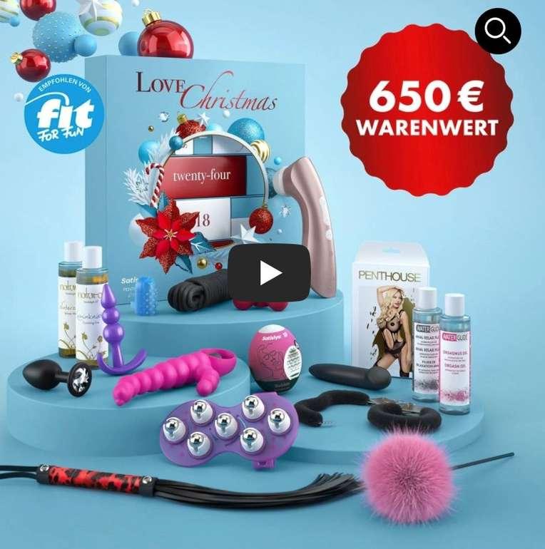 Eis.de Erotik-Adventskalender 2021: Deluxe Variante für 69,99€ oder Premium Version für 139,99€