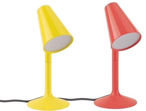 Lirio by Philips LED-Tischleuchte mit 2,5 Watt LED für 18,90€ (Statt 51)