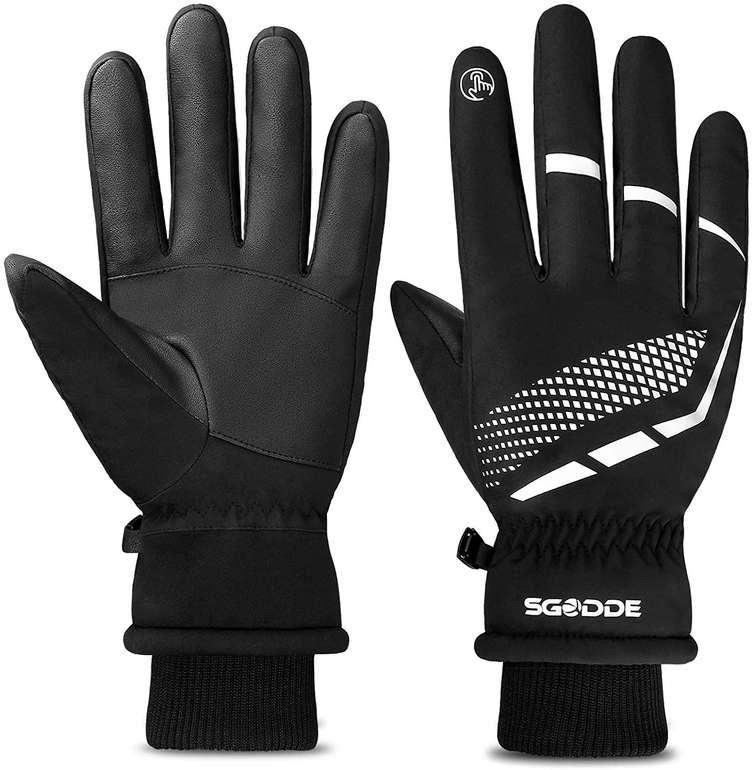 Sgodde wasserdichte Touchscreen Handschuhe für 8,99€ inkl. Prime Versand (statt 15€)