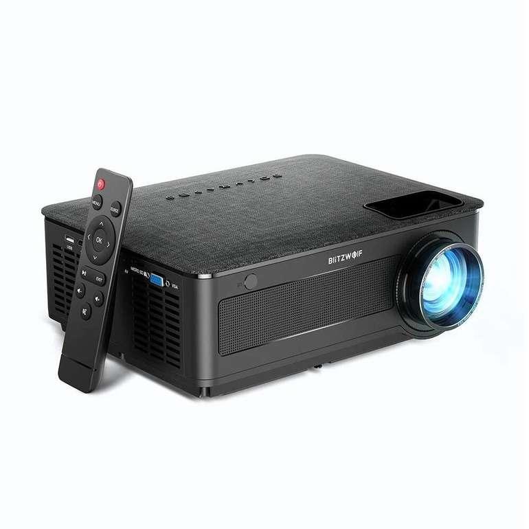 Blitzwolf BW-VP10 - LCD Full HD Projektor (1920x1080P, 6500 Lumen) für 149,90€ inkl. Versand (statt 165€)