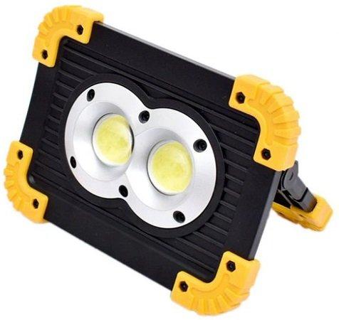 Utorch W1 wiederaufladbares LED-Flutlicht mit Powerbank für 8,88€
