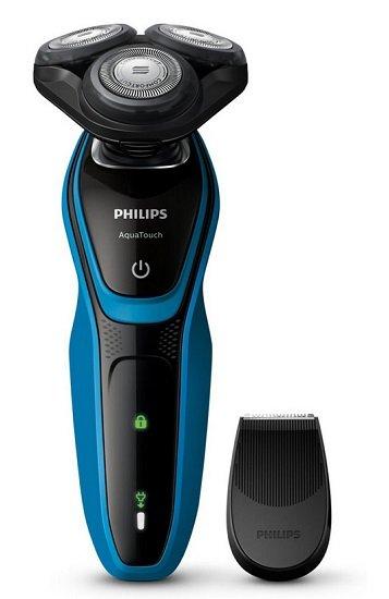 Philips AquaTouch S5050/04 Nass- und Trockenrasierer für 51,98€ inkl. Versand (statt 63€)