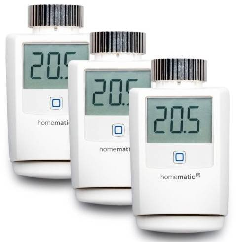 3er Set Homematic IP Heizkörperthermostate HMIP-eTRV für 105€ inkl. Versand