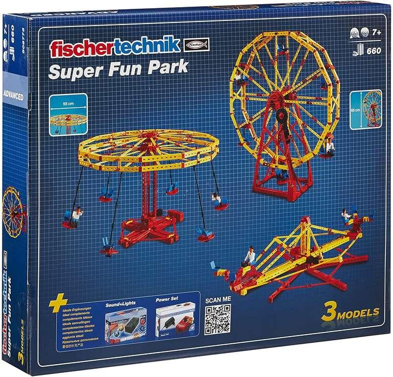 Fischertechnik Bauset Super Fun Park für 55,90€ inkl. Versand (statt 78€)