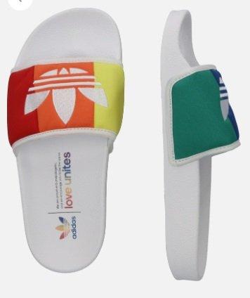 Adidas Orginals Adiletten 'PRIDE' in mischfarben für 17,06 inkl. Versand (statt 45€)