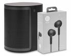 Bang & Olufsen M3 Streaming-Lautsprecher + H3 Kopfhörer für 249€ (statt 298€)