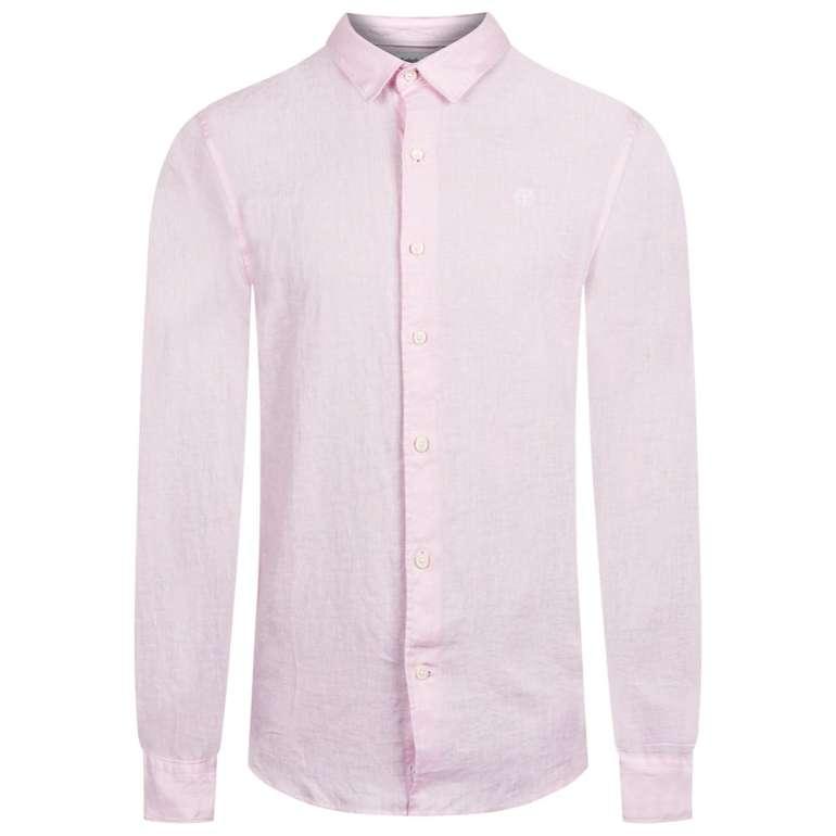 Timberland Mill River Herren Leinen Hemd für 18,80€ inkl. Versand (statt 40€)