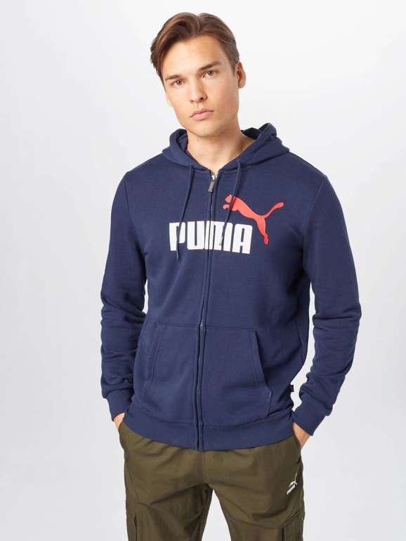 Puma Herren Sportsweatjacke in 2 Farben für je 22,45€ inkl. Versand (statt 55€)