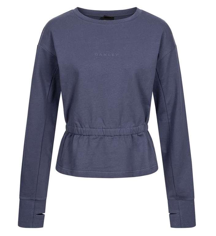 Oakley Luxe Crewneck Damen Sweatshirt in blau für 21,94€inkl. Versand (statt 30€)