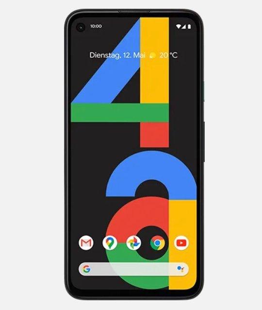 Google Pixel 4a 5G mit 128GB Speicher (4,95€) + Otelo Allnet-Flat Max mit 40GB LTE für 29,99€ mtl.