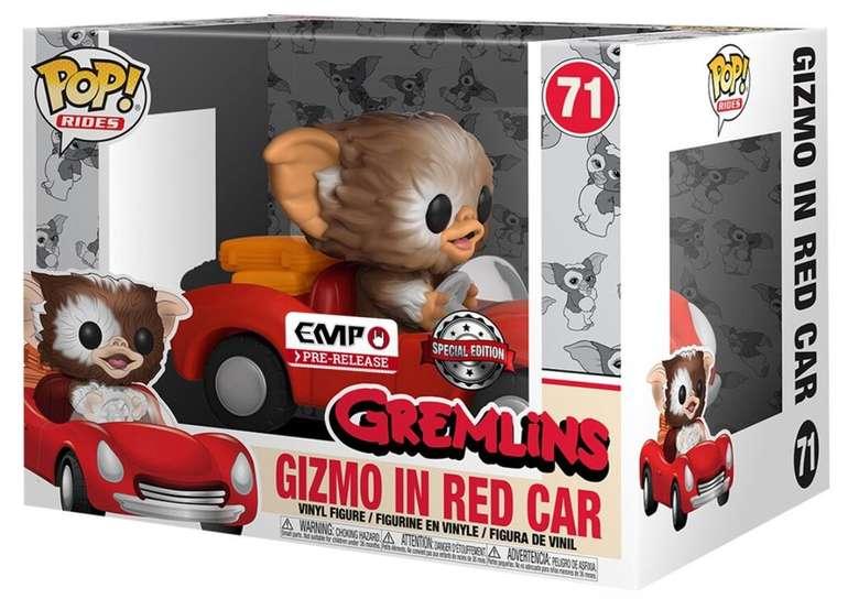 EMP Sale mit 16% Extra Rabatt (MBW: 20€) - z.B. Gizmo in red car POP Rides Funko Pop! für 24,10€ (statt 30€)