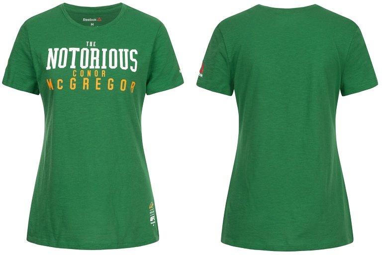Reebok Conor McGregor Damen MMA T-Shirt