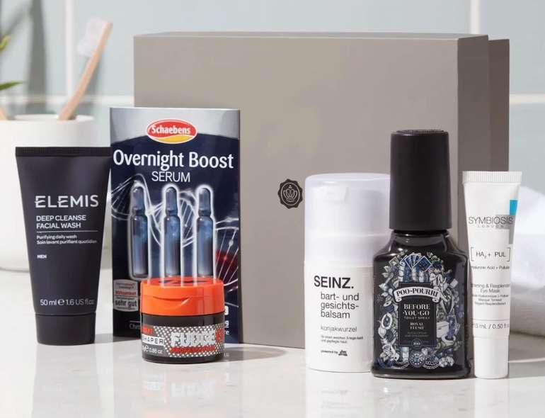Glossybox Men Box (März 2021) mit Bart- und Gesichtspflege Produkten für 14€ (statt 30€) – kein Abo!