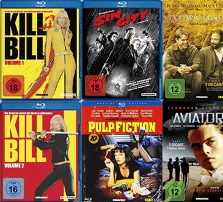 Saturn: 3 Filme (Blu-ray oder DVD) für 10€ zzgl. 1,99€ Versandkosten