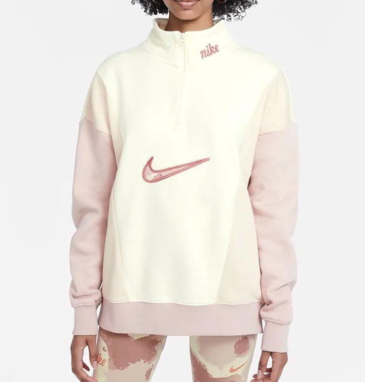 Nike Sportswear Damen-Fleece Zip Sweater mit Viertelreißverschluss für 45,49€ (statt 65€) - Nike Membership!