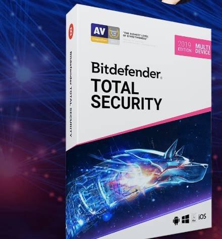 Bitdefender Total Security 2019 Suite - 6 Monate kostenlos nutzen