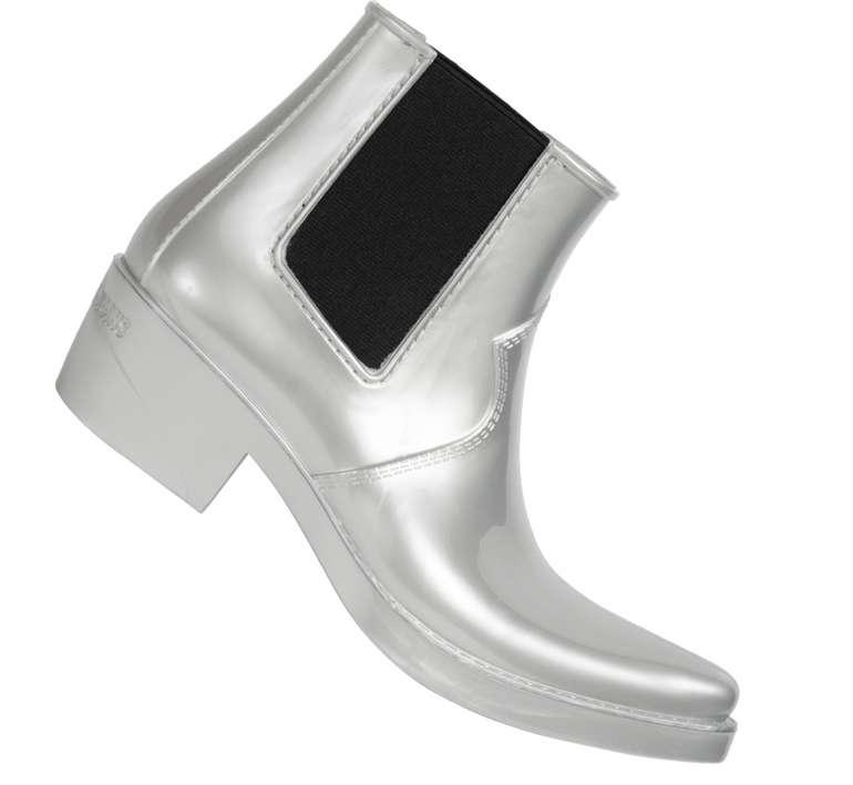 Calvin Klein Jeans Carol Damen Stiefeletten (R0747SLV) für 20,11€inkl. Versand (statt 75€)